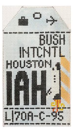 HedgeHog IAH Houston Travel Tag