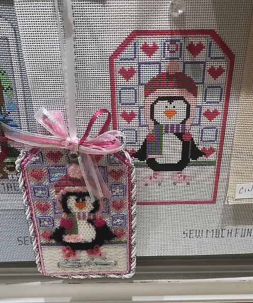 Skating Penguin girl