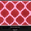 Thumbnail: INSPCC-13 Red & Pink Quatrefoil Insert