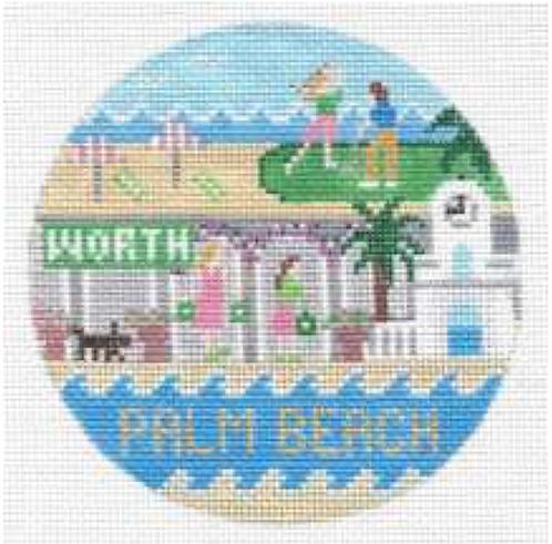Doolittle Destination Rounds 18 mesh Palm Beach