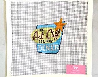 Poppy's Needlepoint Art Cliff Diner