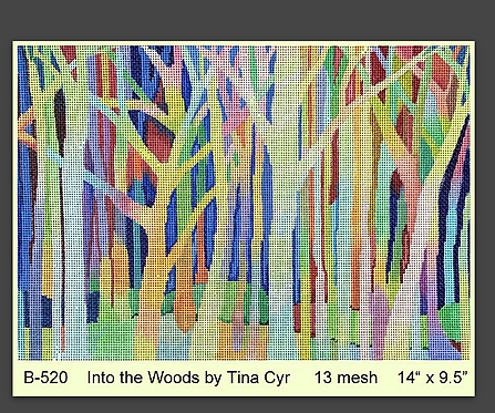 Brenda Stofft - Into the Woods 13 mesh