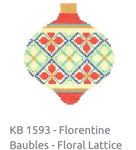 KB 1593 Florentine Bauble