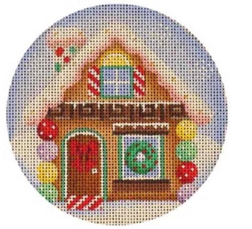 Rebecca Wood Gingerbread House