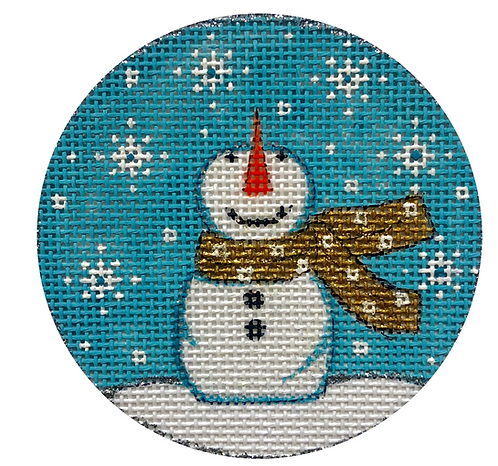 x391 Things Looking Up Snowman Ornament