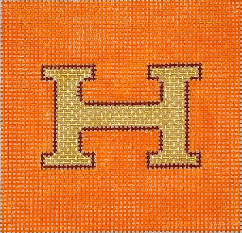 "Kate Dickerson INSSQ3-46 3x3"" Hermes Square"