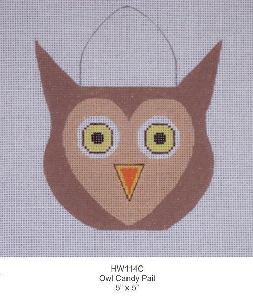 Eye Candy HW114C Candy Pail Owl