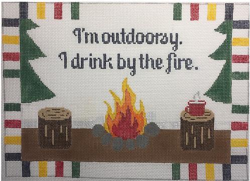 Rachel Donley RD285 Drink by the Fire 18 mesh