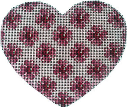 AT HE1007 Heart Flower Repeat Heart - Large
