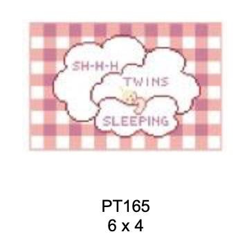 Kathy Schenkel PT165 Sh-h-h Twins  Sleeping