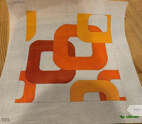 Collection Geometric - Orange Color Way