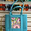 """Thumbnail: Bahama Blue Turtle Bag Tote with Zipper - takes 5.5x7"""" Insert"""