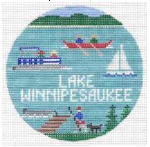 Doolittle Destination Rounds 18 mesh Lake Winnipesaukee