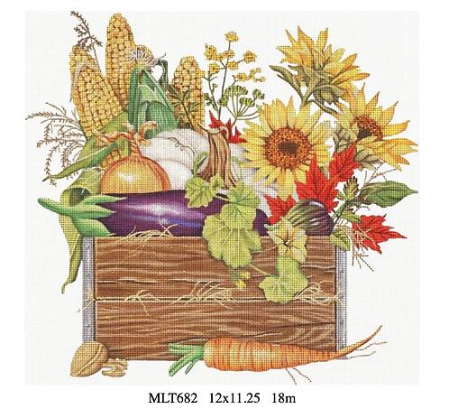 Melissa Shirley MLT682 Autumn Harvest Crate