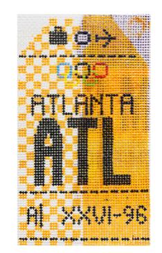 HedgeHog ATL Atlanta Travel Tag
