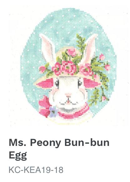 Kelly Clark Ms. Peony Bun-bun Egg