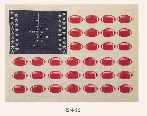 HSN-16 Football Flag