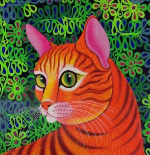 Ginger Cat - 13 mesh