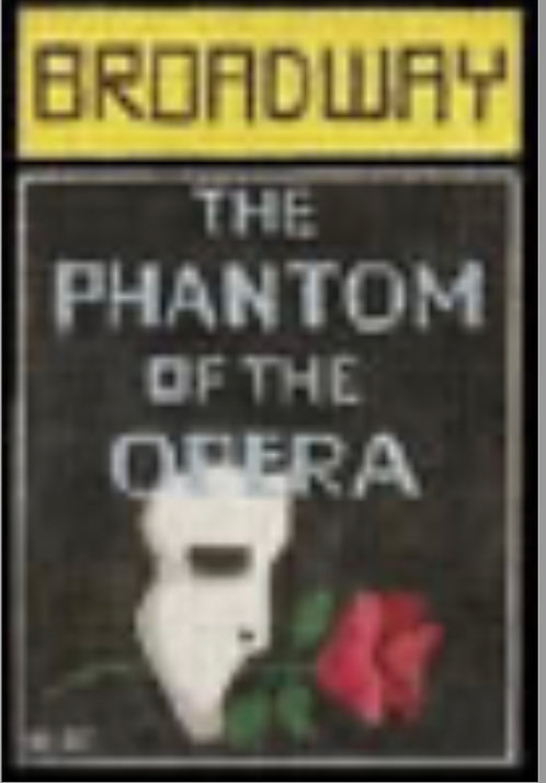 Raymond Crawford Playbill -Phantom