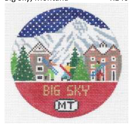 Doolittle Ski Rounds 18 mesh Big Sky