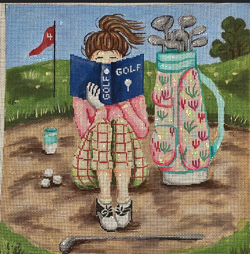 Gayla Elliott Golf Girl P290