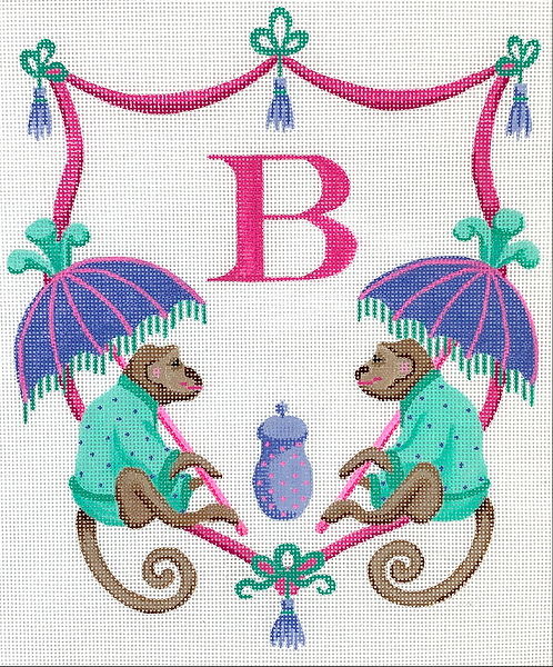 Kate Dickerson ALCR-06 Monkeys with Parasol