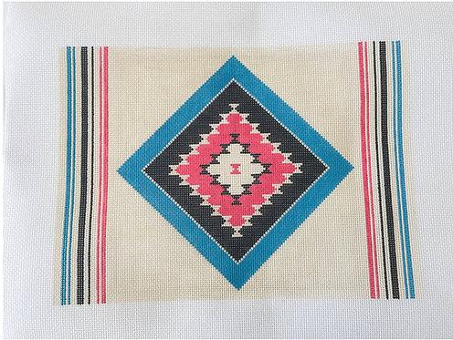 Pewter & Pine Azul Calypso Pillow