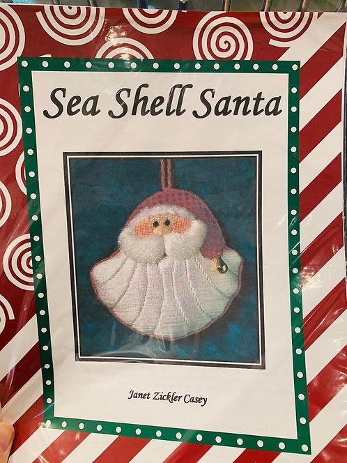 Sea Shell Santa with Stitch Guide
