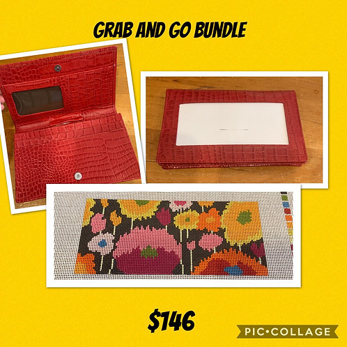 Red Wallet and Insert Bundle