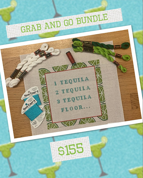 Grab and Go Bundle 1. Tequila....