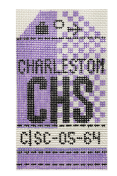 HedgeHog CHS Charleston Travel Tag