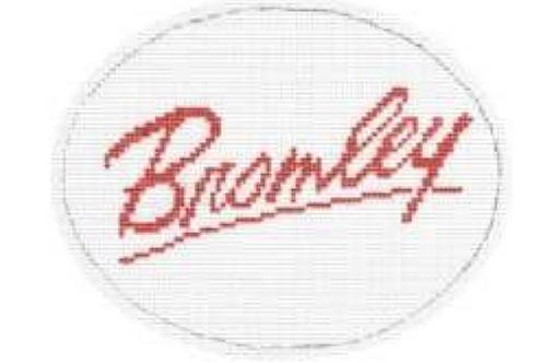 Bromley Logo - 18 mesh