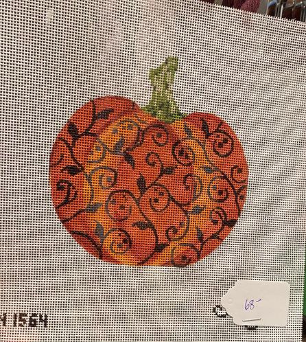 Kelly Clark KCN1564 Pumpkin with vines 18 mesh