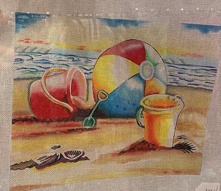 AP 4141 Beach Ball and Pails