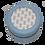 "Thumbnail: 4"" Light Blue Round Jewelry Case (3"" Insert)"