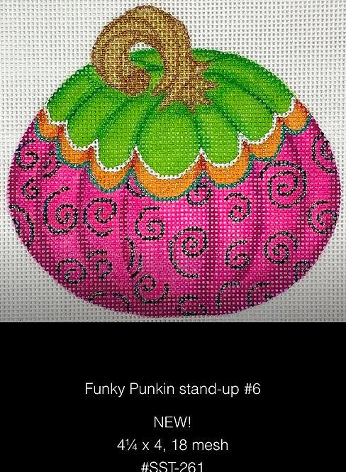 Kate Dickerson SST261 Funky Pumpkin Standup #6