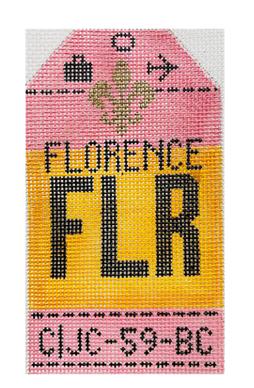HedgeHog FLR Florence Travel Tag