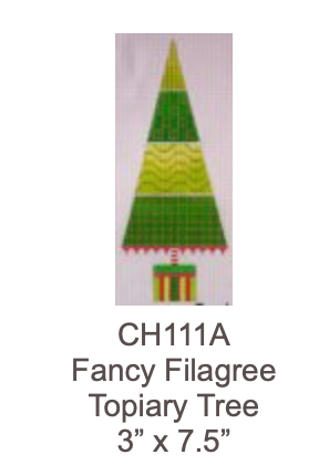 Eye Candy CH111A Fancy Filagree Topiary