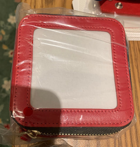 Red Jewelry case
