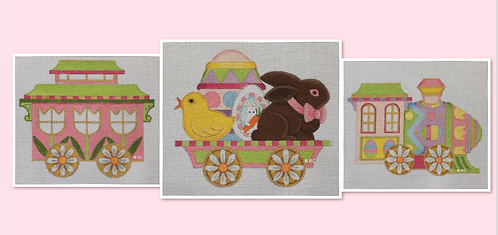 Raymond Crawford Easter Train -3 pieces