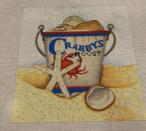 Linda Spivey LDBP03 Crabby's Roost  Square