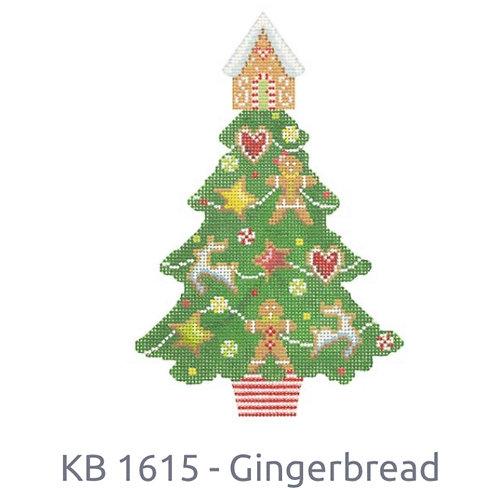 KB 1615 Gingerbread Tree
