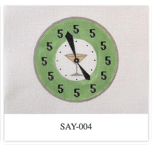 Patricia Sone 004 It's 5:00 13 mesh