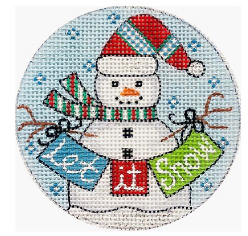 x329 Let it Snow Ornament