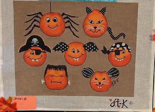 Cheeky Pumpkins DTK-8