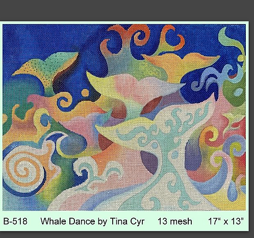 Brenda Stofft - Whale Dance 13 mesh