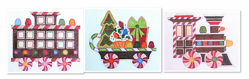 Raymond Crawford  Gingerbread Train - 3 pieces