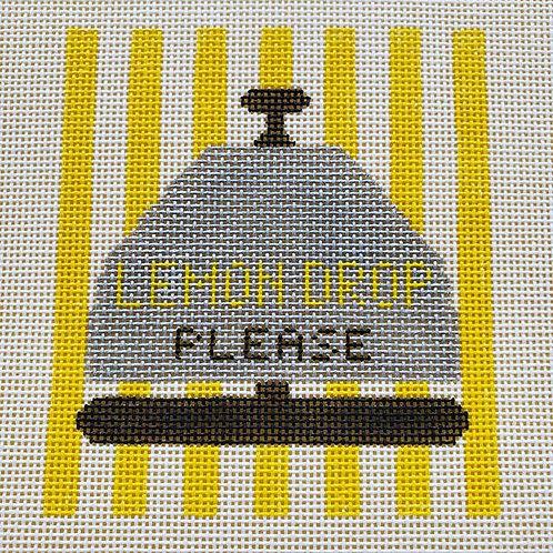 Silver Stitch Needlepoint Lemon Drop Please Bell