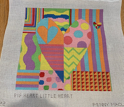 Penny Macleod PM 1122 Big Heart Little Heart 13 mesh