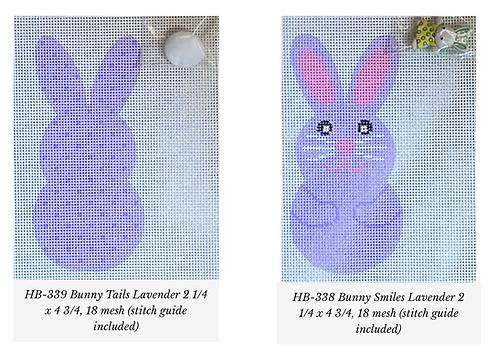 Danji Lavender Bunny Front/Back